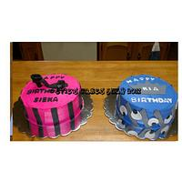 A Shoe Cake & A Diva Cake