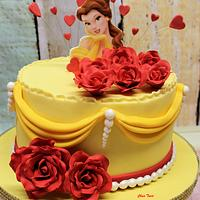 Cake Belle and the Beast