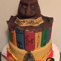 Harry Potter themed Birthday Cake