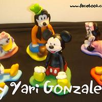 Mickey And Friends Cake Toppers
