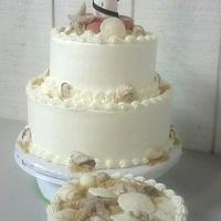 Cape Hatteras Wedding Cake
