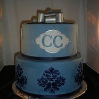 Blue theme Birthday  by Jacqulin
