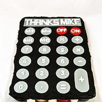 Calculator Pull-apart Cake
