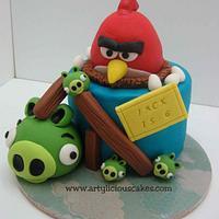 Jack's Angry Birds by iriene wang
