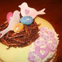 """""""Love is in the air""""  by Fun Fiesta Cakes"""
