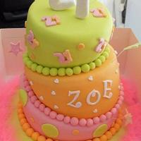 wonky cake