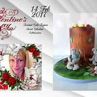 Fondant cake-toppers Sweet Valentijn Collaboration