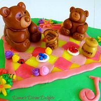 Teddy Bear Picnic by Dawn