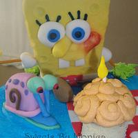 SpongeBob Has A Party! by Sweets By Monica