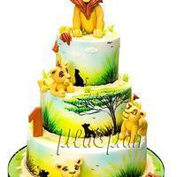 Lion King Cake / Торта Цар Лъв