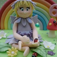 Close up of flower fairy by DarcysCupcakes