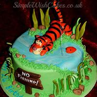 the wonderful Tigger by Stef and Carla (Simple Wish Cakes)
