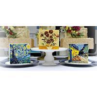 Van Gogh Paintings in Cake Series