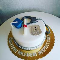 Cake for police girl