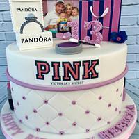 Admirable 13Th Birthday Cake Cake By Lorraine Yarnold Cakesdecor Funny Birthday Cards Online Elaedamsfinfo