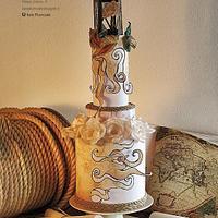 Nautical Wedding Cake - Volume 6 Issue 5 Cake Central