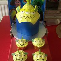 toystory alien cake