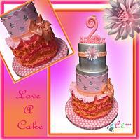 Tutu-themed Birthday Cake