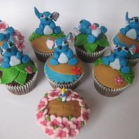 'Stitch' Birthday Cupcakes by Sugar Sweet Cakes