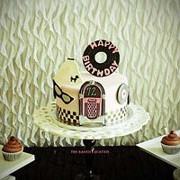 50's Party Cake