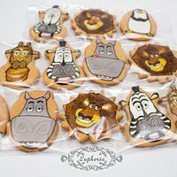 Madagascar cookies