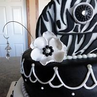 Black and White Bling by Amanda Reinsbach
