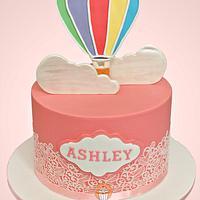 Hot Air Baloon cake