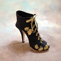 Fondant/gumpaste boot