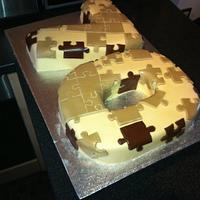 Puzzle cake by Mark