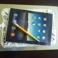 ipad  by The cake shop at highland reserve