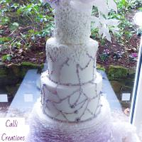 Lilac Romance - Wedding Cake