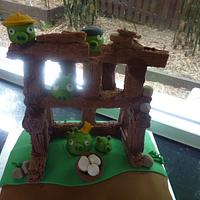 angry birds by The cake shop at highland reserve