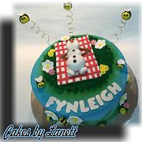 Frozen Olaf Cake by lanett