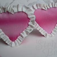 Ruffled hearts by Jane Moreton