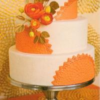 Starburst Wedding Cake