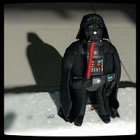 Darth Vader cake topper