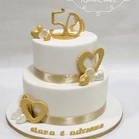 Anniversari cake