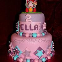 dora the explora cake