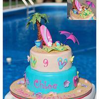 Chloe's Beach Cake