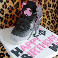 Nike Air Yeezy trainer cake