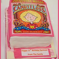 Jacqueline Wilson, Candfloss book cake