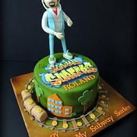 Subway Surfer Cake by D Cake Creations®