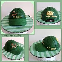 South African Rugby Cap Cake