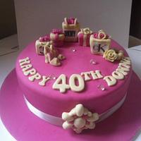 Shopaholics 40th Birthday