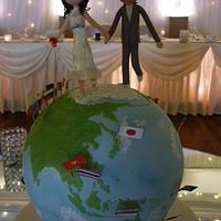 On Top Of The World - Wedding Cake