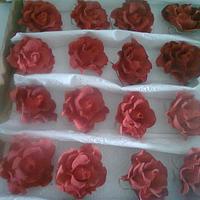""""""" Gum Paste Roses:"""