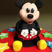 Micky mouse topper
