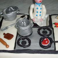 Chef cake by Filomena