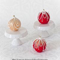 Christmas Cake Ornaments