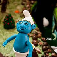 All Edible Smurfs Village!